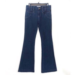 Free People High Rise Flare Leg Jeans 28